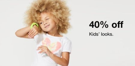 40% Off Kids' Looks from macy's