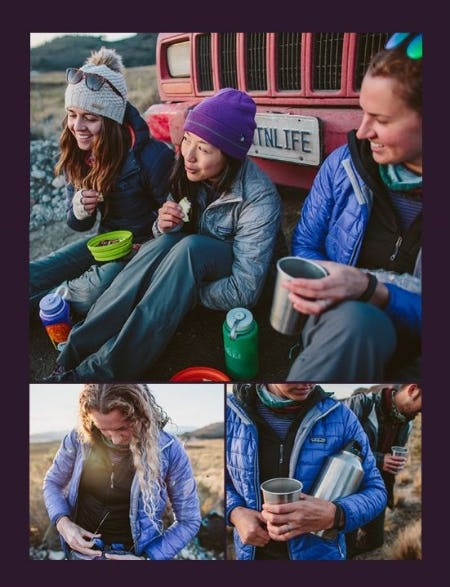 Puffys from Patagonia for Fall Adventures from REI