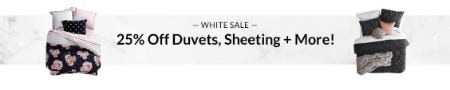25% Off White Sale from Pb Teen