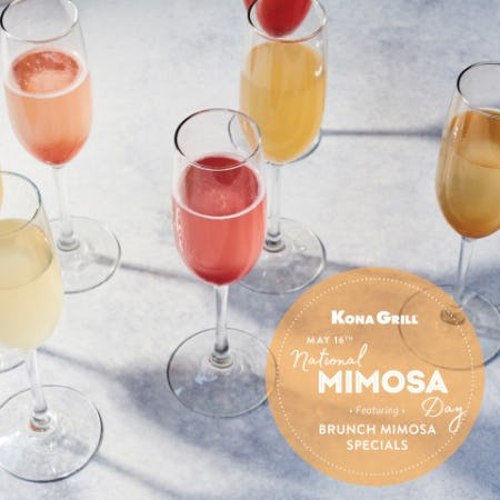 Mimosa Day at Kona Grill from Kona Grill