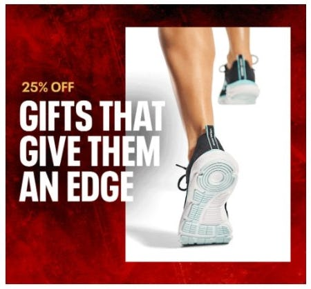 25% Off Gifts that Gibe Them and Edge from Under Armour