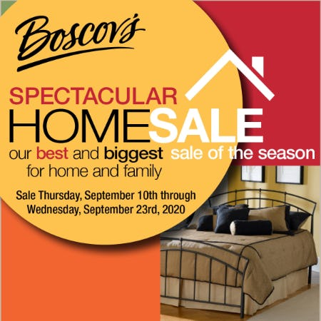 Boscov's Spectacular Home Sale