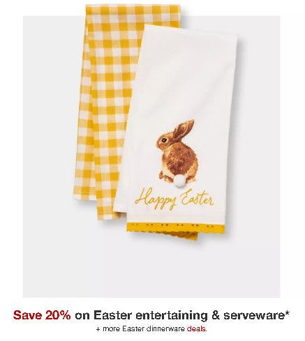 Save 20% on Easter Entertaining & Serveware