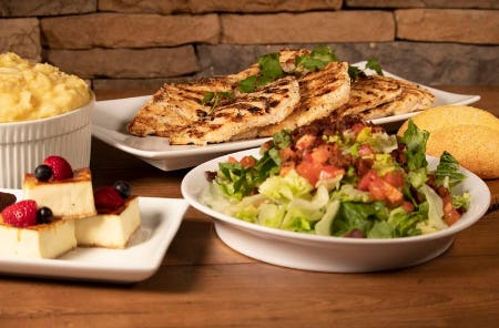 Firebirds Family Meal Deal from Firebirds Wood Fired Grill