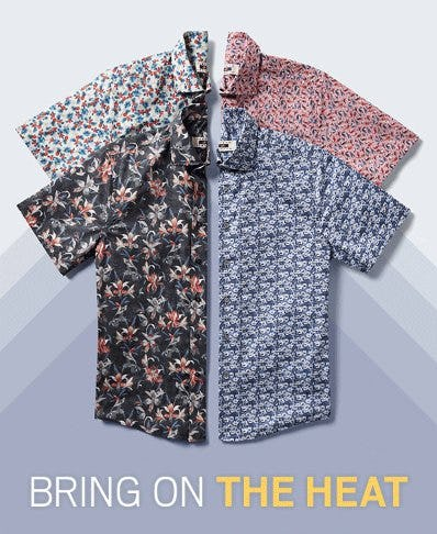 Work Those Short Sleeves from Men's Wearhouse