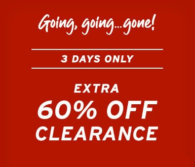 Extra 60% Off Clearance from Eddie Bauer