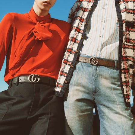 The Reversible GG Belts from Gucci