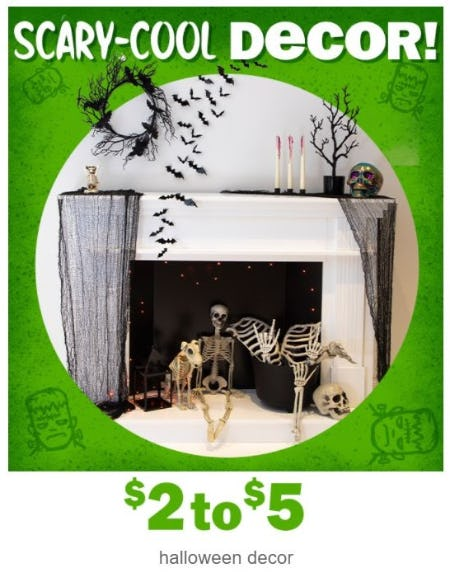$2 to $5 Halloween Decor from Five Below