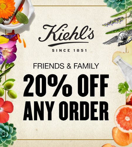 Friends & Family from Kiehl's