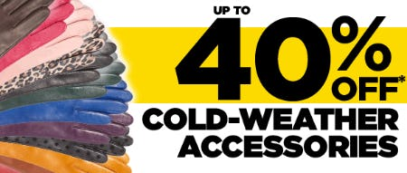 Up to 40% Off Cold Weather Accessories from Lord & Taylor