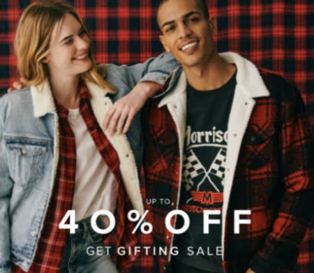 Up to 40% Off Get Gifting Sale from Lucky Brand Jeans