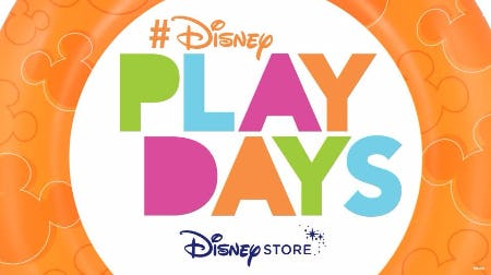 Summer Play Days Exclusively at Disney Store!