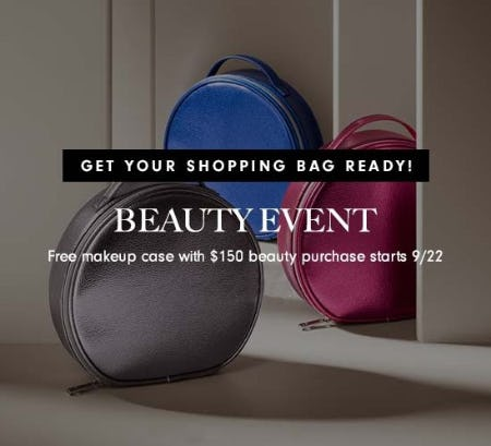 Free Beauty Gift from Neiman Marcus