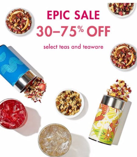 Epic Sale 30-75% Off