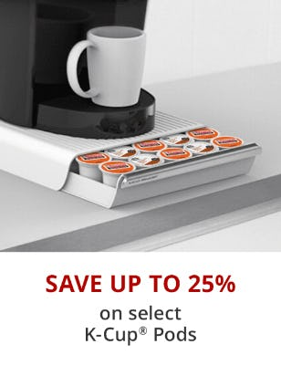Save Up to 25% on Select K-Cup Pods from Office Depot
