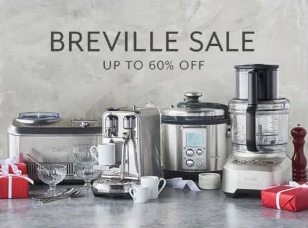 Up to 60% Off Breville Sale