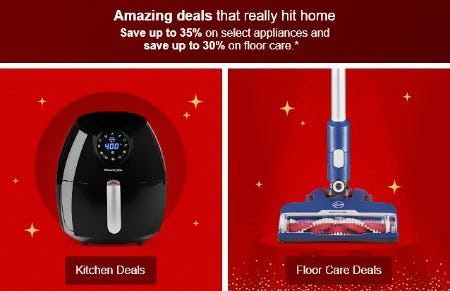 Save Up to 35% on Select Appliances from Target