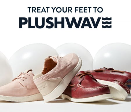 Treat Your Feet to Plushwave from Sperry Top-Sider