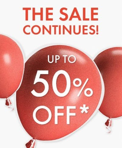 Up to 50% Off Sale from Swarovski