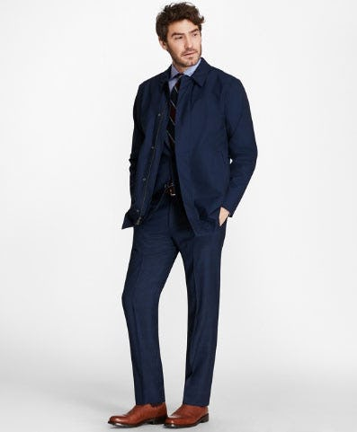 Technical Wool Walking Jacket from Brooks Brothers