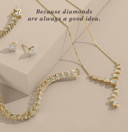 Yellow Gold Diamond Jewelry from Fred Meyer Jewelers