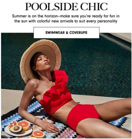 Poolside Chic from Neiman Marcus