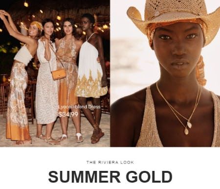 Have a Golden Summer from H&M