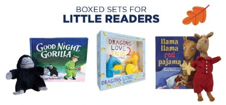 Boxed Sets for Little Readers from Books-A-Million