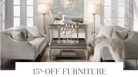 15% Off Furniture