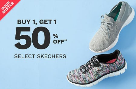 BOGO 50% Off Select Skechers from Belk