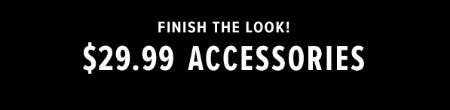 $29.99 Accessories from Lucky Brand Jeans