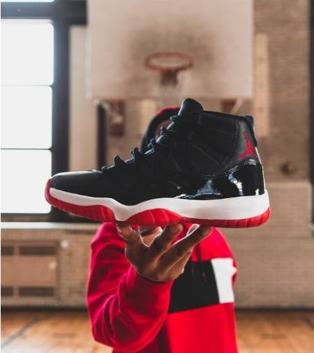 "Air Jordan Retro 11 ""Bred"" from DTLR"