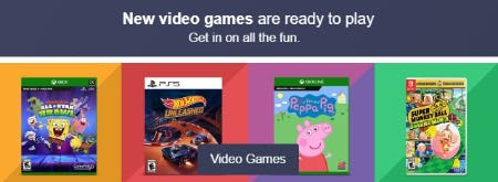 Shop New Video Games from Target
