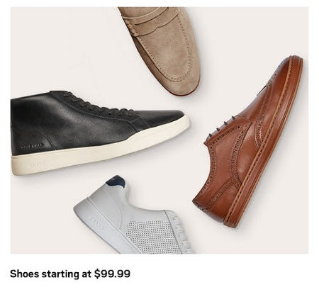 Shoes Starting at $99.99