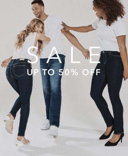 Up to 50% Off Sale from AG Jeans
