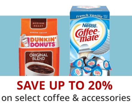 Save Up to 20% on Select Coffee & Accessories from Office Depot