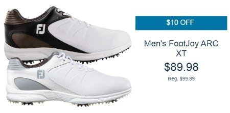 10$ Off Men's FootJoy ARC XT from Golf Galaxy