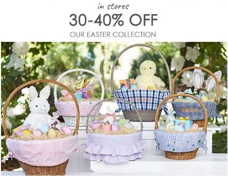 30–40% Off Our Easter Collection from Pottery Barn Kids