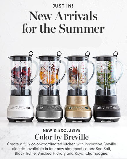 New Arrivals for the Summer from Williams-Sonoma