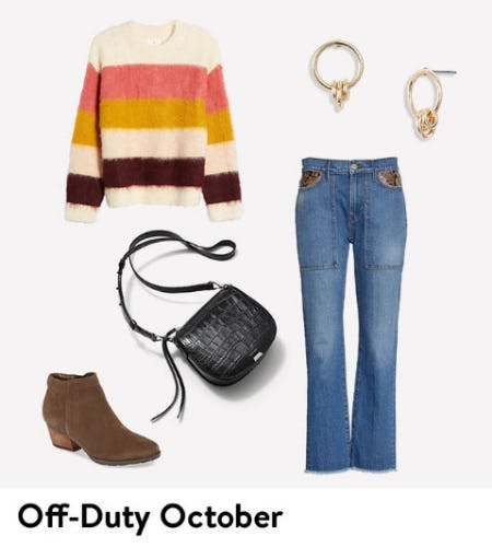 A Cozy Fall Weekend Look