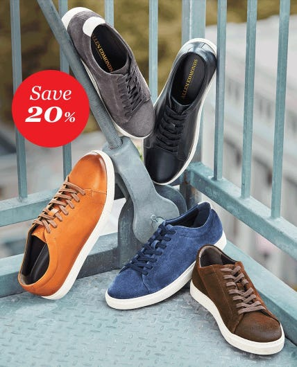 Save 20% Off on Sneakers from Allen Edmonds