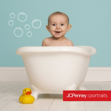 Babies & Bubbles Photography Event from JCPenney Portraits