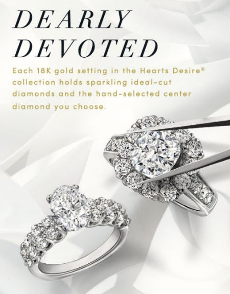 Capture your Devotion with Hearts Desire from Jared Galleria Of Jewelry