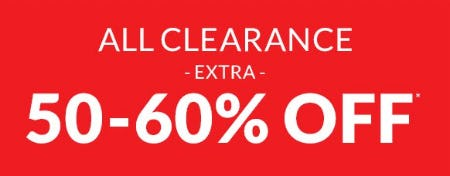 Extra 50-60% Off All Clearance from The Children's Place