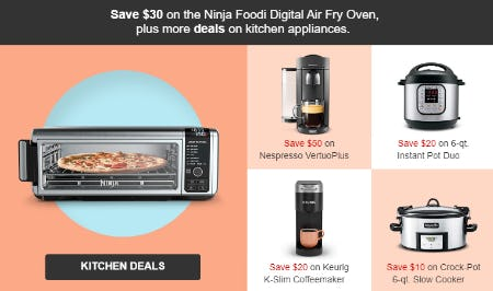 Save $30 Kitchen Deals from Target