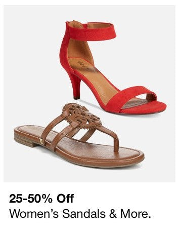 25-50% Off Women's Sandals & More from macy's