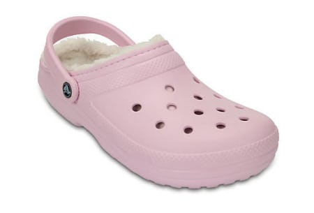Classic Fuzz-Lined Clog from Crocs