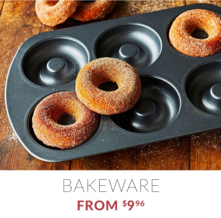 Bakeware from $9.96