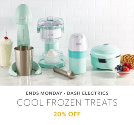 20% Off Dash Electrics from Sur La Table