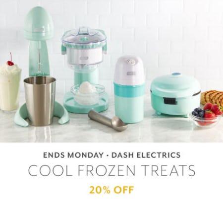 20% Off Dash Electrics